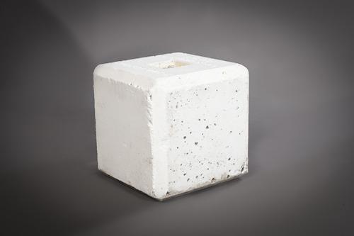 250lb concrete block