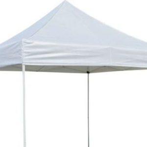 White 10 x 10 pop up tent