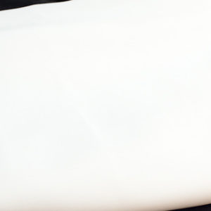 White semi sheer drape