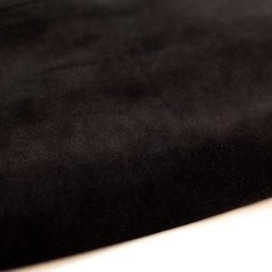 Black Velour drape