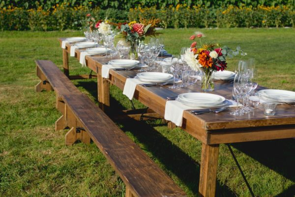 Harvest benches