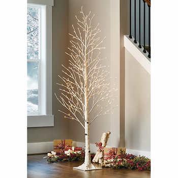 LED birch tree