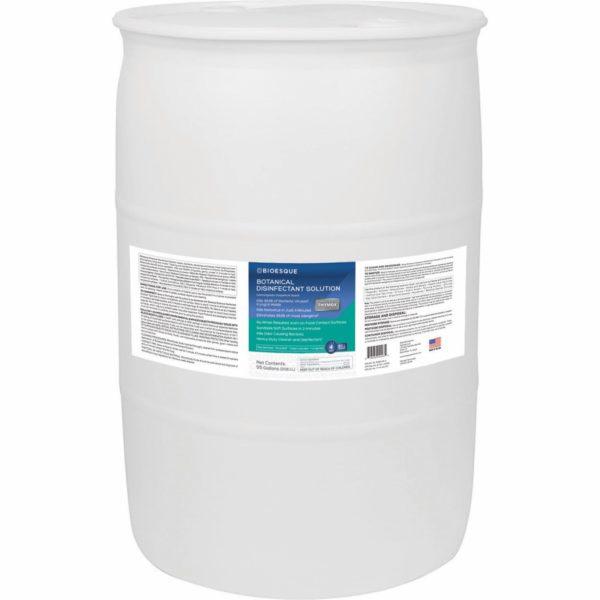 drum of bioesque disinfectant