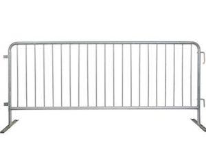 Galvanized barricade