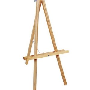 table top wooden easel