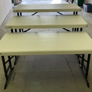 4ft rectangle tables