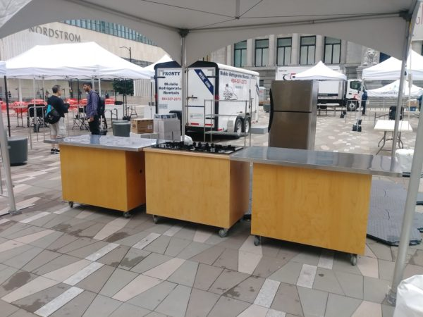 portable basic kitchen package