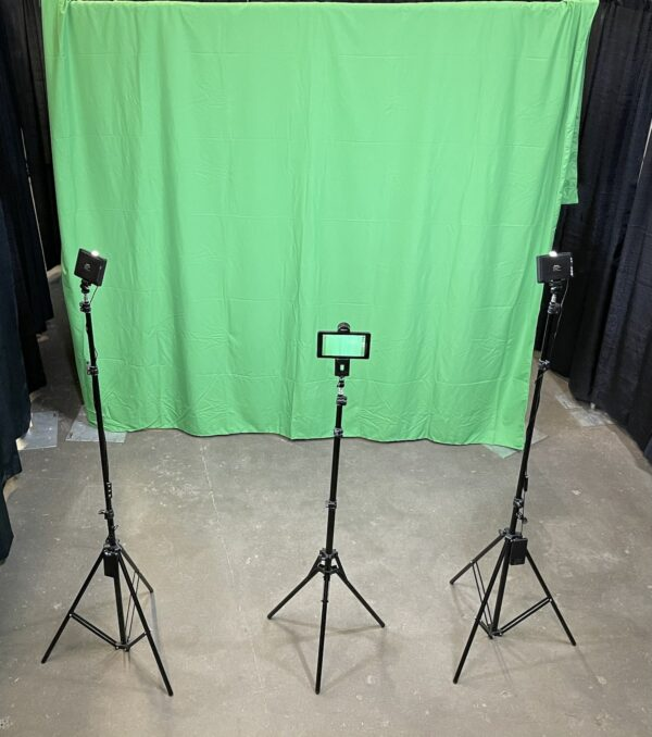 greenscreen photo backdrop kit