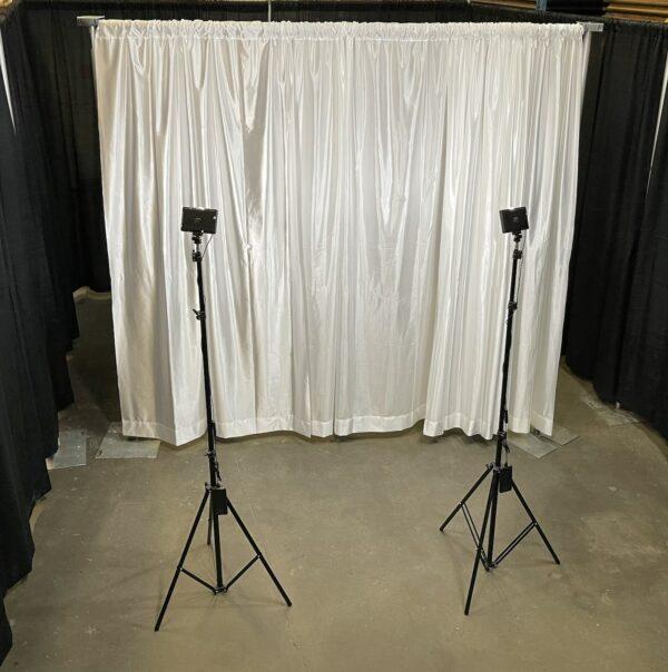 white photo backdrop