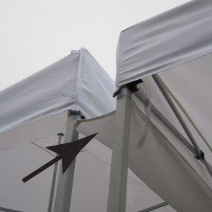 tent rain gutter