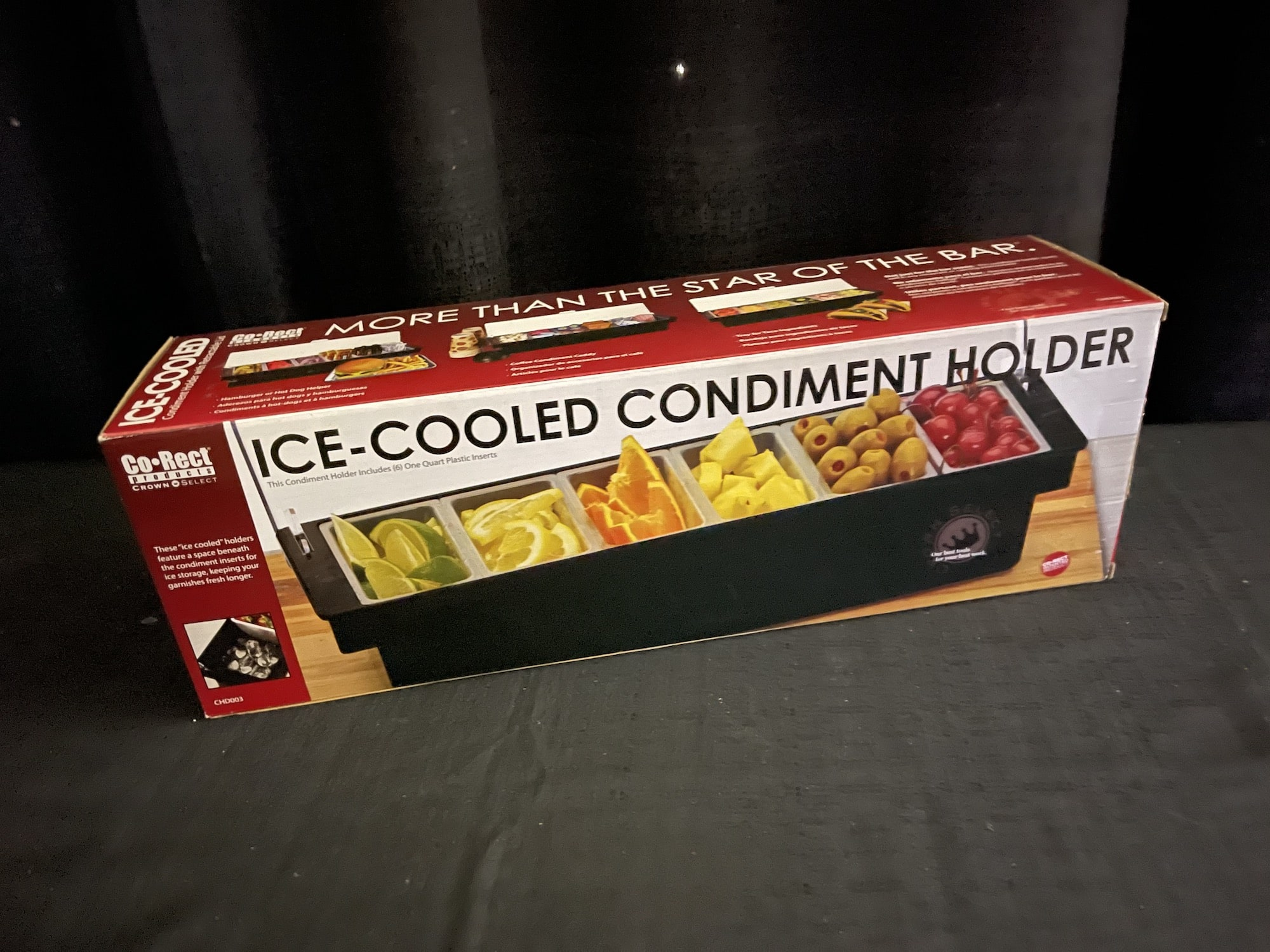 Condiment holder