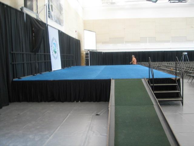 stage wheelchair ramp