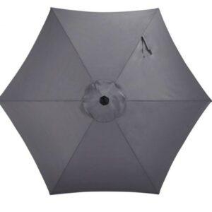 dark grey umbrella